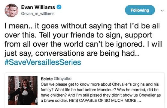 Evan Williams - Versailles
