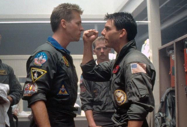 Tom Cruise and Val Kilmer-Top Gun 2