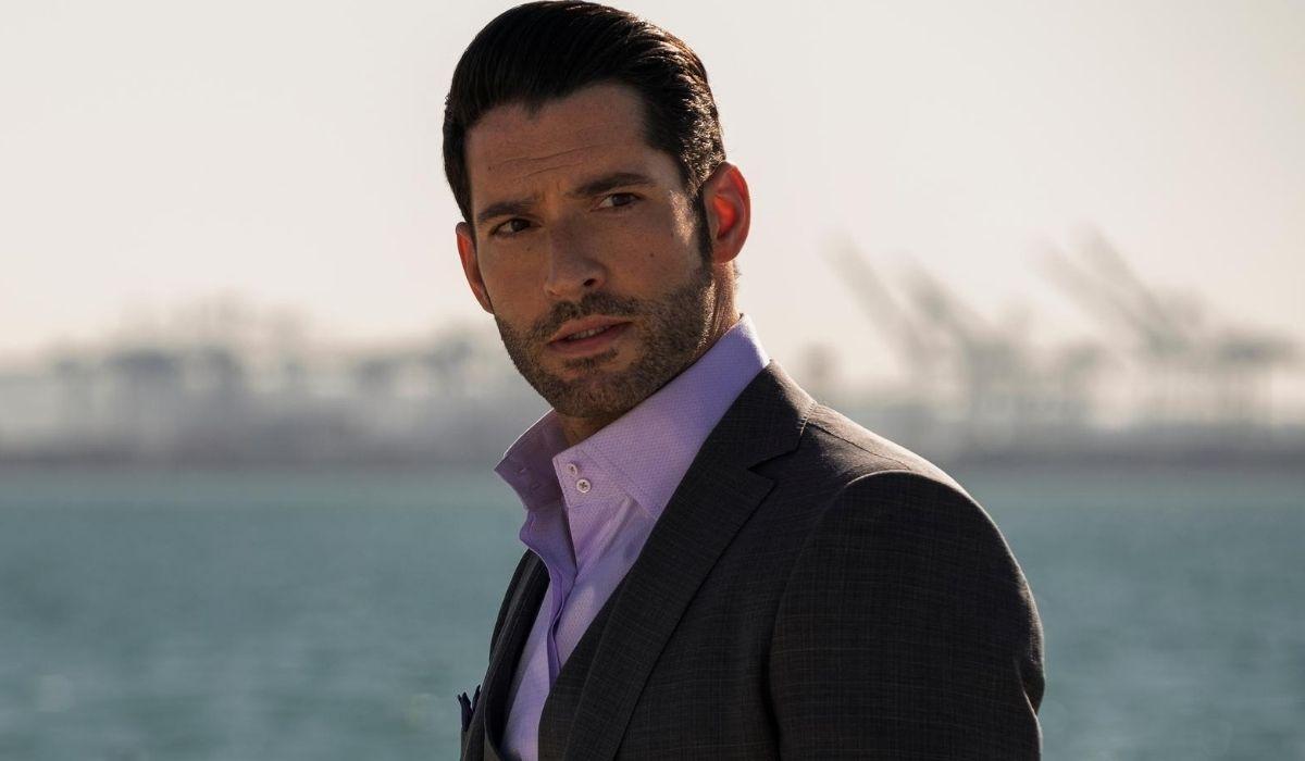 Tom Ellis è Lucifer in Lucifer serie tv Credits John P. Fleenor e Netflix