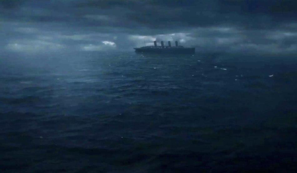"""La nave al centro di """"1899"""" che si intravede nel teaser trailer. Credits: Netflix."""