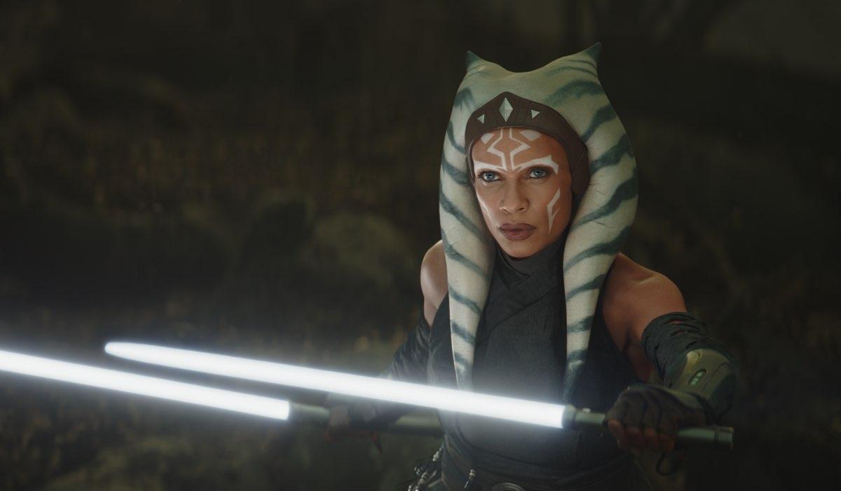 Ahsoka Tano (Rosario Dawson) avrà la sua serie spin-off. Credits: LucasFilm/Disney.
