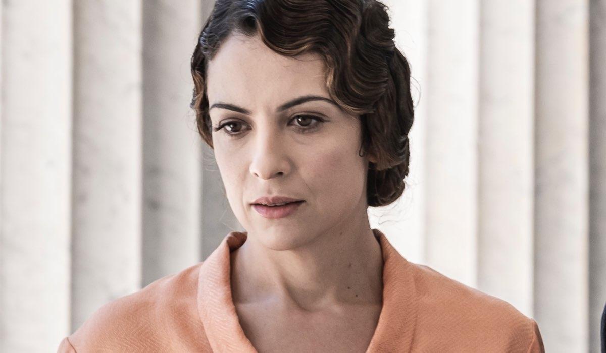 Serena Iansiti Interpreta Livia ne Il Commissario Ricciardi. Credits: Anna Camerlingo/Rai