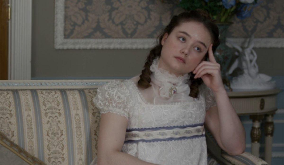 Francesca (Ruby Stokes) è la più misteriosa dei fratelli e delle sorelle Bridgerton. Credits: Netflix.