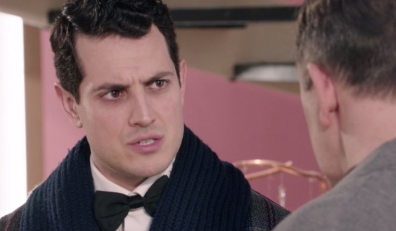 Il Paradiso Delle Signore 5 Puntata 61: Salvatore Amato interpretato da Emanuel Caserio, qui con Armando Credits Rai