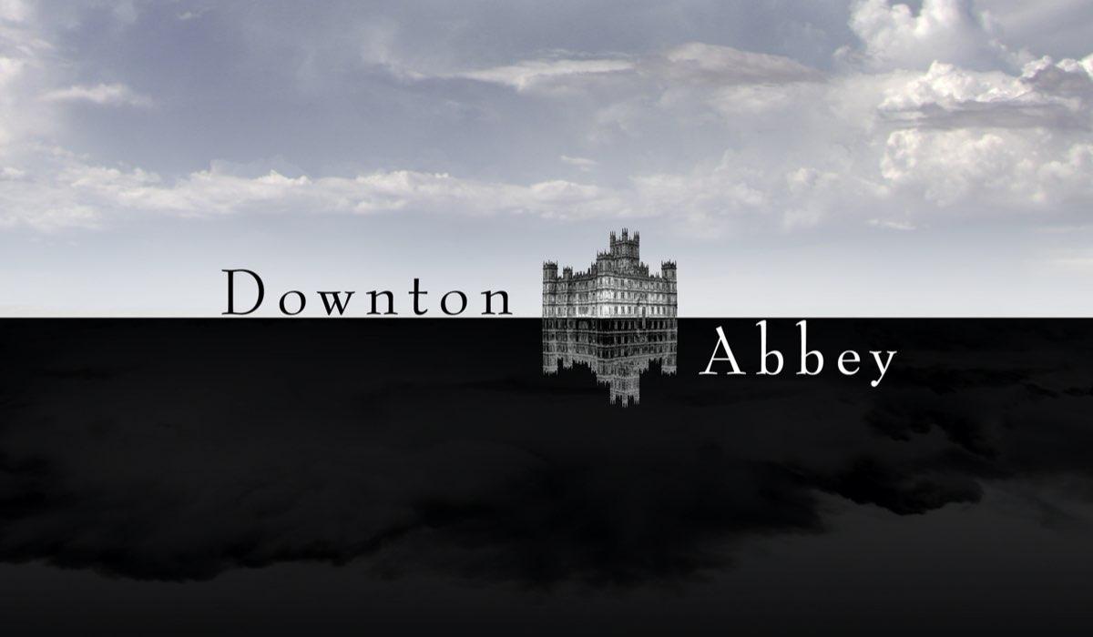 Key Art Con Logo Ufficiale Della Serie Tv Downton Abbey Credits ITV E La7