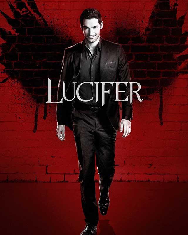 La locandina di Lucifer. Credits: Netflix.