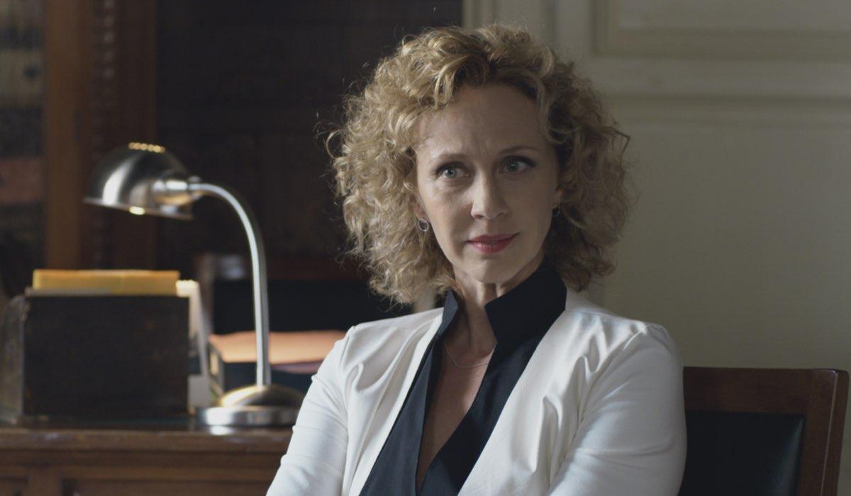 Monica Dugo Interpreta Anita Ne Il Commissario Montalbano 2021 (Il Metodo Catalanotti). Credits: Duccio Giordano/Rai