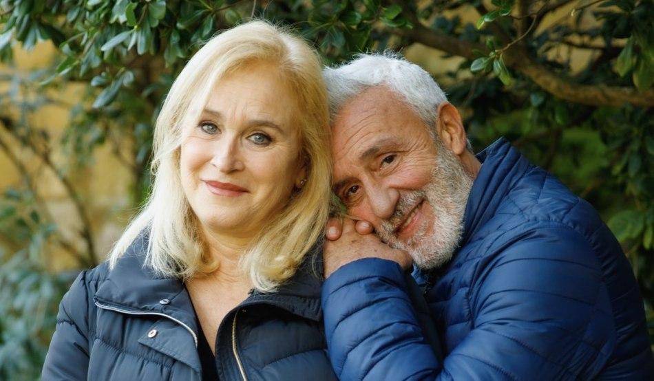 Ornella (Marina Giulia Cavalli) e Raffaele ( Patrizio Rispo) In Un Posto Al Sole. Credits: Rai