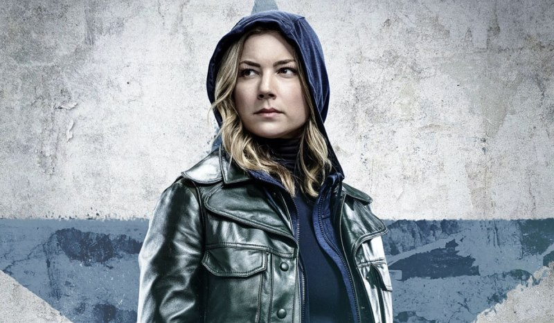 Emily VanCamp è Sharon Carter in The Falcon And The Winter Soldier. Credits: Disney Plus.