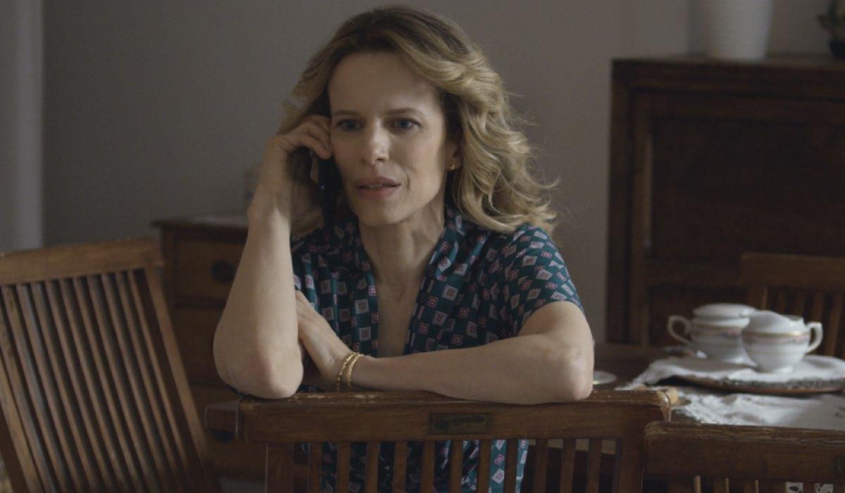 Sonia Bergamasco Interpreta Livia Ne Il Commissario Montalbano 2021(Il Metodo Catalanotti). Credits: Duccio Giordano/Rai