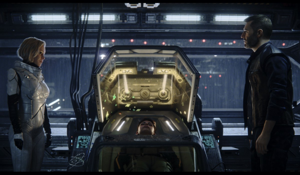 Una Foto Dal Set Di Love Death E Robots Prima Stagione. Credits: Netflix