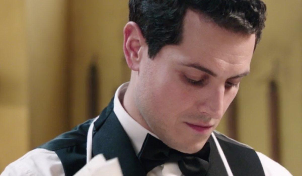 Il Paradiso Delle Signore 5 Salvatore Amato interpretato da Emanuel Caserio, qui nella puntata 68 Credits Rai