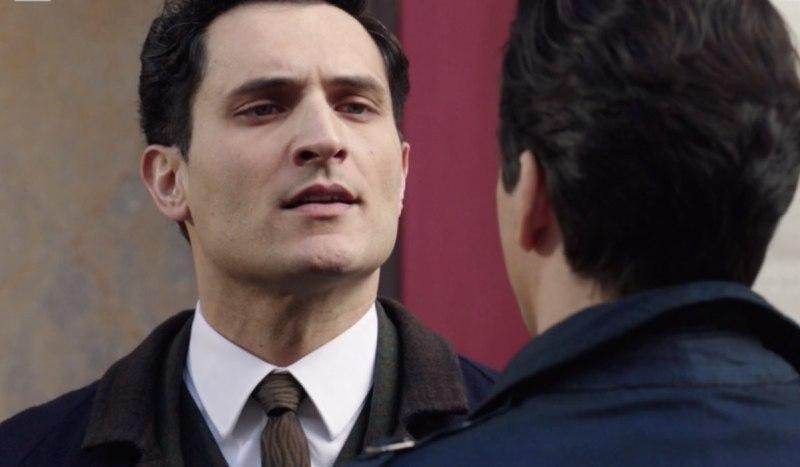 Il Paradiso Delle Signore Puntata 120 Vittorio Conti interpretato da Alessandro Tersigni Con Dante Credits Rai