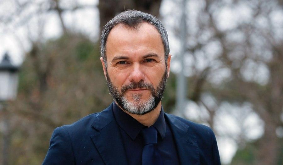 Massimiliano Gallo, qui al servizio fotografico di