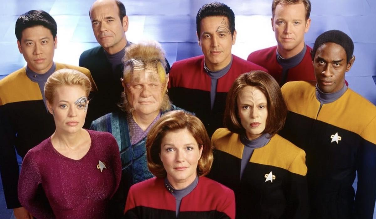 Star Trek Voyager Serie Tv. Credits: UPN