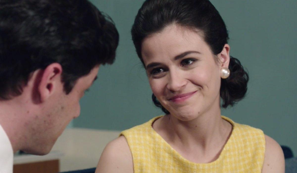 Il Paradiso Delle Signore 5, puntata 152: Cosimo Bergamini interpretato da Alessandro Cosentini e Gabriella Rossi interpretata da Ilaria Rossi. Credits: Rai