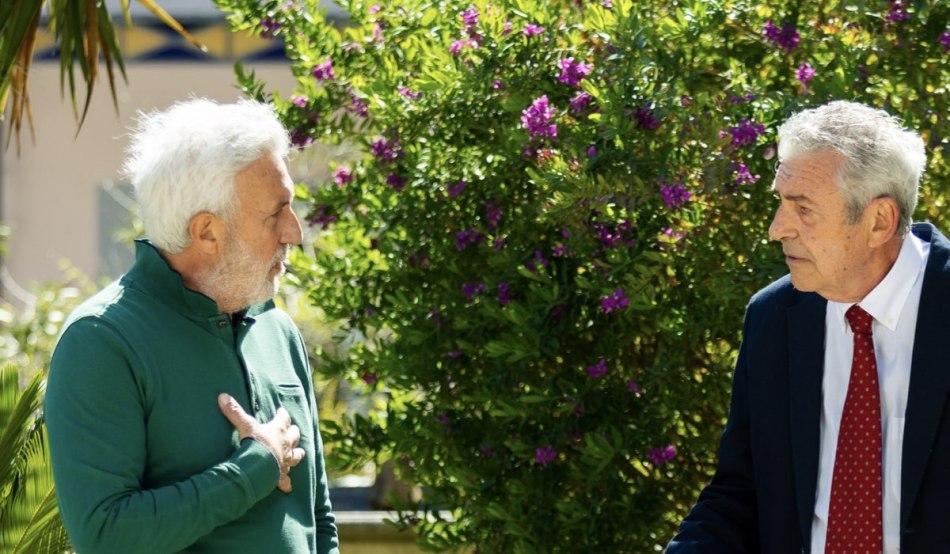 Patrizio Rispo (Raffaele) e Marzio Honorato (Renato) In Un Posto Al Sole Credits: Rai