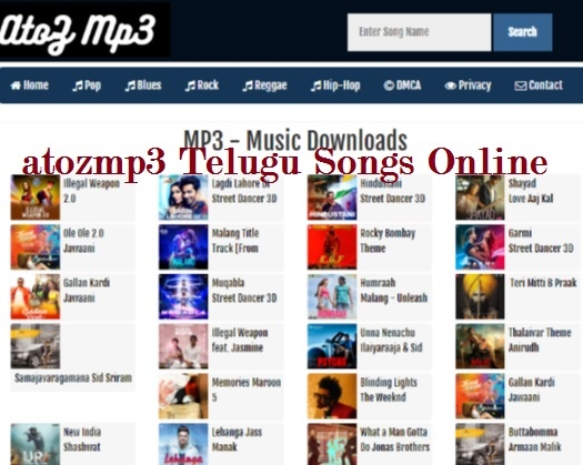 atozmp3 songs, Telugu Songs, Tamil Songs, Download Online, Old, New