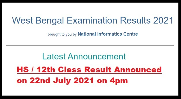 WB 12th Result, West Bengal HS Result, wbresults.nic.in, WB HS Result, Name Wise, Roll No Wise
