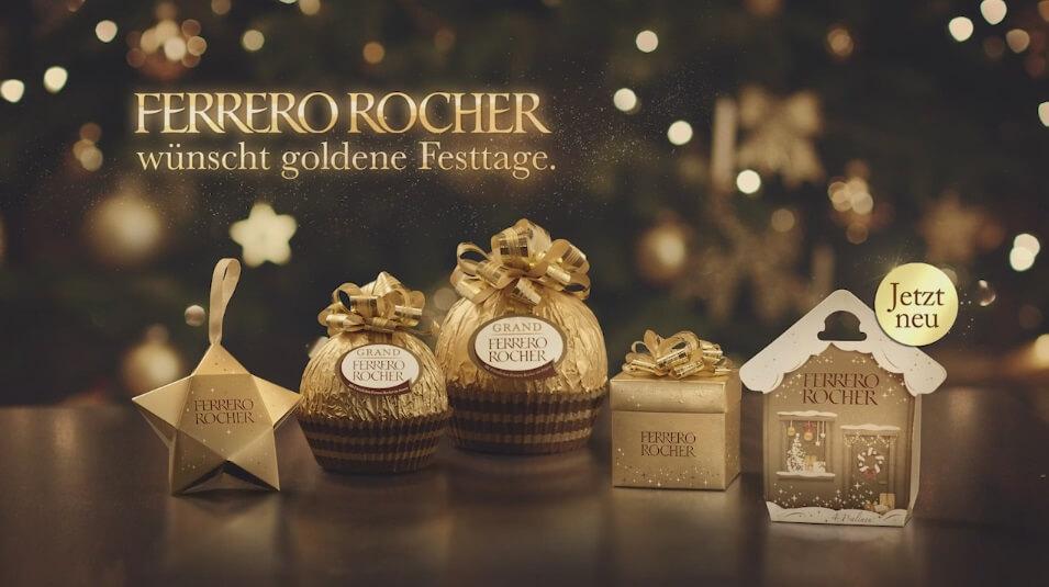 Ferrero Rocher Goldzauber: Song aus der Werbung Dezember 2015