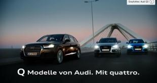 Audi-Q-Modelle-Werbung-Song