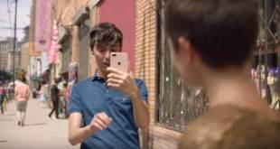 iPhone 8-Werbung