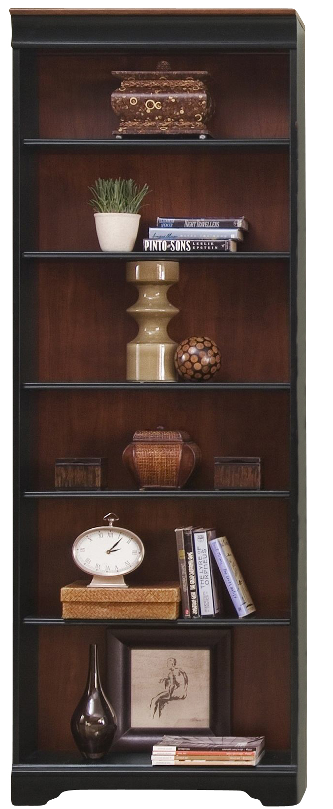 Liberty St Ives Jr Executive 84 Inch Bookcase RTA In