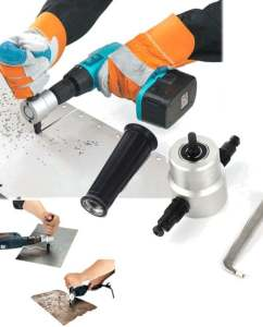 360-Degree-Nibble-Metal-Cutting-Double-Head-Sheet-Nibbler-Hole-Saw-Cutter-Drill-Tool-Tackle-Car