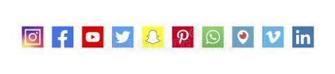 Facebook Twitter Facebook Instagram Linkedin Stock Illustrations – 1,598 Facebook  Twitter Facebook Instagram Linkedin Stock Illustrations, Vectors & Clipart  - Dreamstime