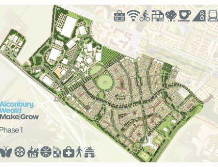 Alconbury Weald Phase 1 Masterplan thumb