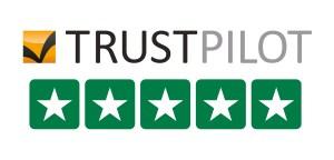 5 star trustpilot rating logo