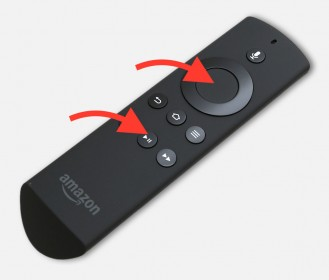 Amazon Fire TV - Reboot with the Remote