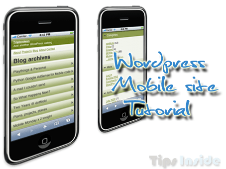 wordpress mobile site tutorial