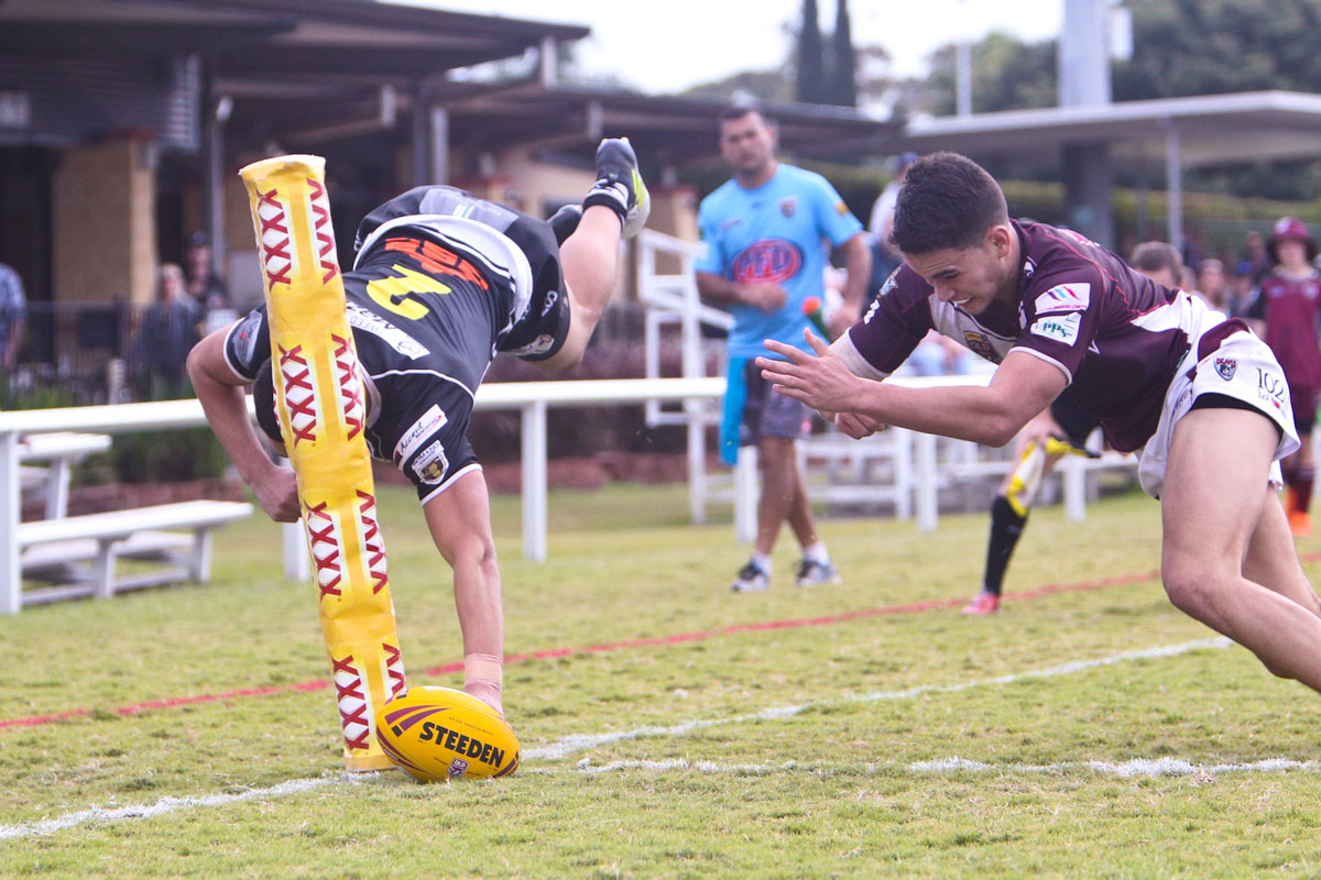 Burleigh Bears vs Tweed Heads Seagulls (Colts) - 1 July 2018 | Tweed