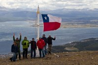 the Flag on Cerro Bandera by Christopher James Harris.
