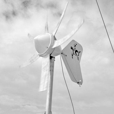 Wind Generator sporting new tail