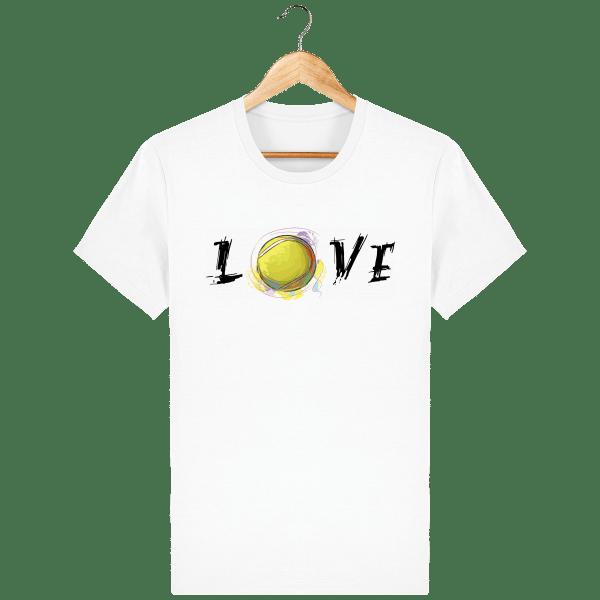 T-Shirt Love Homme - white_face