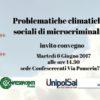 PRATO: Problematiche climatiche e sociali di microcriminalità; Invito 6 giugno 2017