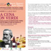 """Venerdì 21 Luglio 2017 """"A cena con Verdi"""""""
