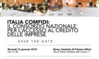 Italia Comfidi, l'evento a Roma il 16 gennaio