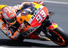 Moto gp, Francia: trionfo di Marquez. Sul podio Valentino Rossi. Giornata nera per Dovizioso