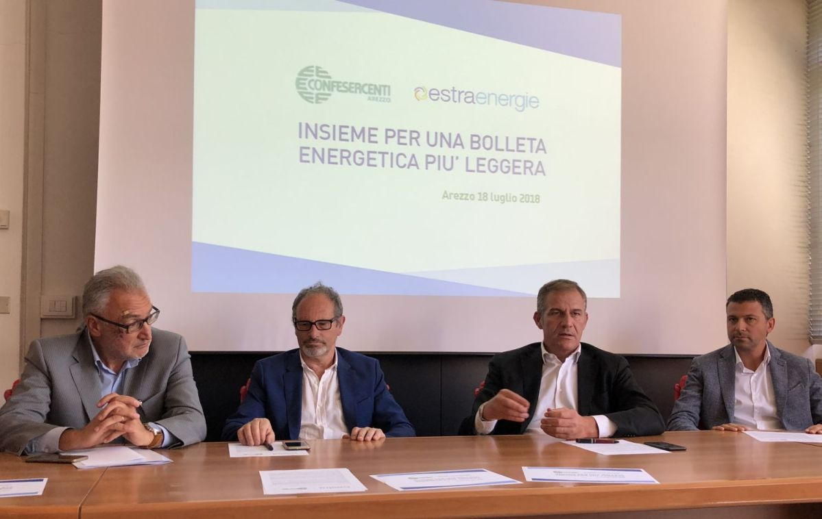 Arezzo, ecco l'accordo con Estra per alleggerire le bollette