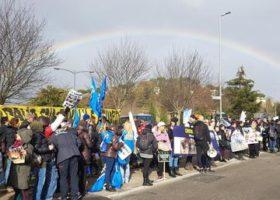 Palio di Siena: animalisti protestano per le morti dei cavalli. Fuori dalle mura