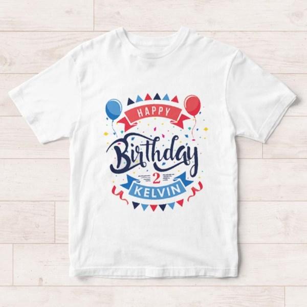 Celebration Birthday T Shirt Previous