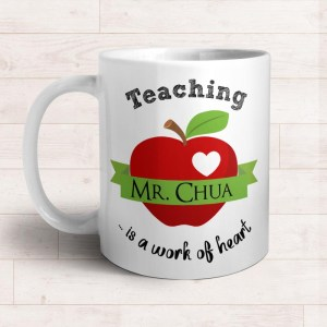Mugs for Teachers Gifts | Singapore Personalized Teacher's Day Gift