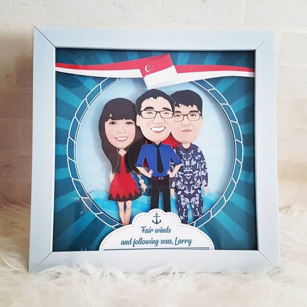 office farewell gifts Singapore - personalised photo gifts
