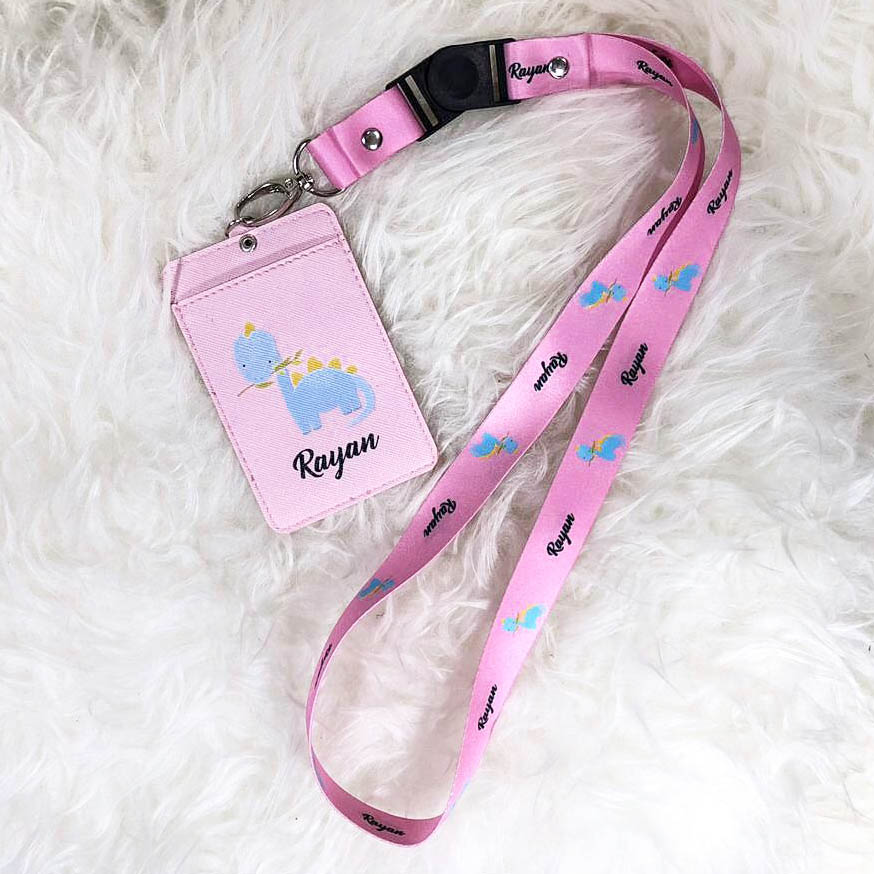 Customized ID Card Holder / Ezlink with Lanyard