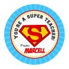 Super Teacher Thank You Stickers Singapore