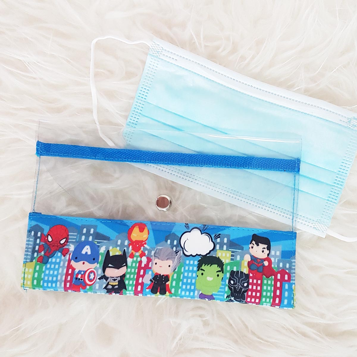 Disposable Mask Storage Pouch | Singapore Personalised Mask Wallet