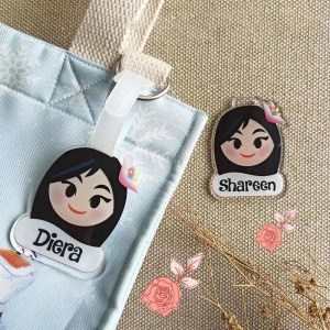 Customised Bag Tag Singapore | Personalized Acrylic Bag Tags